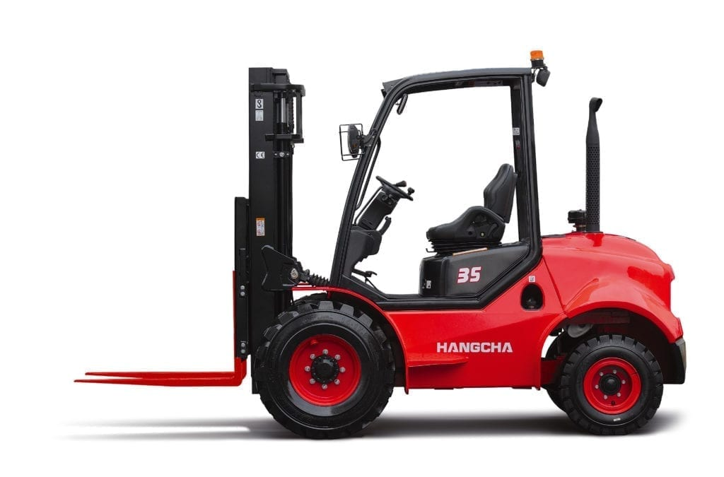 hire and rent 2WD Rough Terrain Forklift
