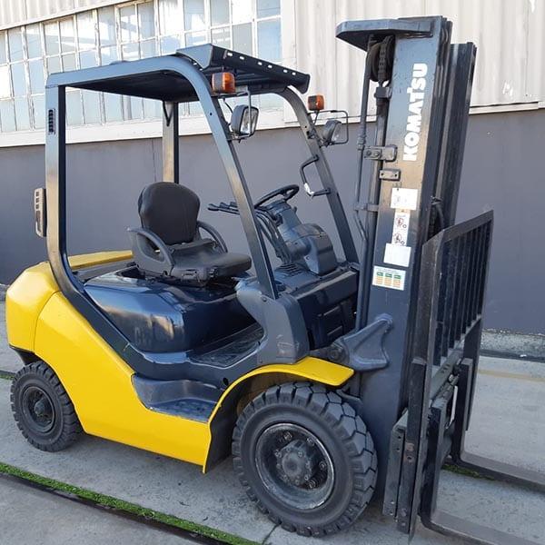 Used Forklift_MHE_F1163