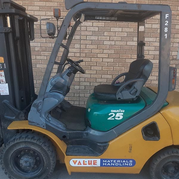 Used Forklift_MHE_F281