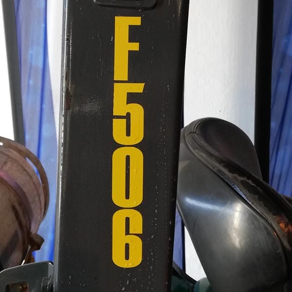 Used Forklift_MHE_F506
