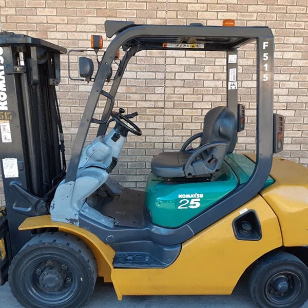 Used Forklift_MHE_F515