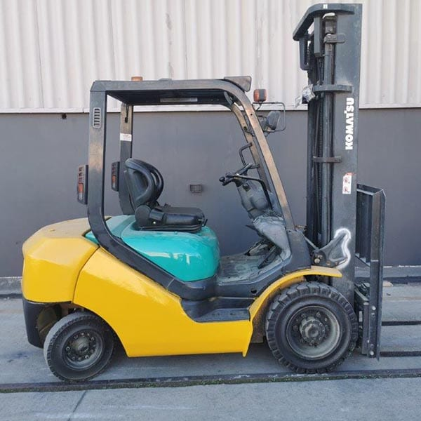 Used Forklift_MHE_F684
