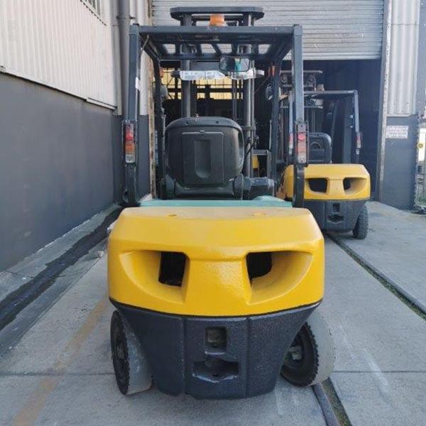 Used Forklift_MHE_F684