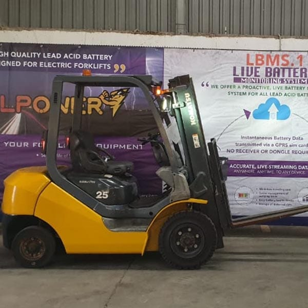 Used Forklift_MHE_F1526