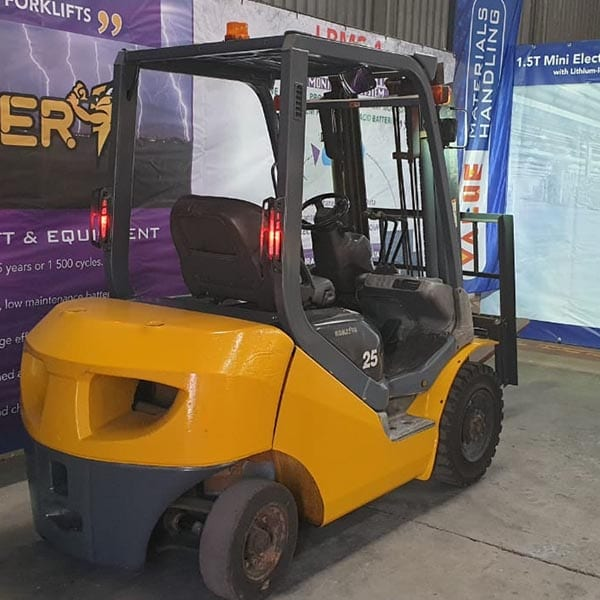 Used Forklift_MHE_F1526