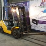 Used Forklift_MHE_F1529